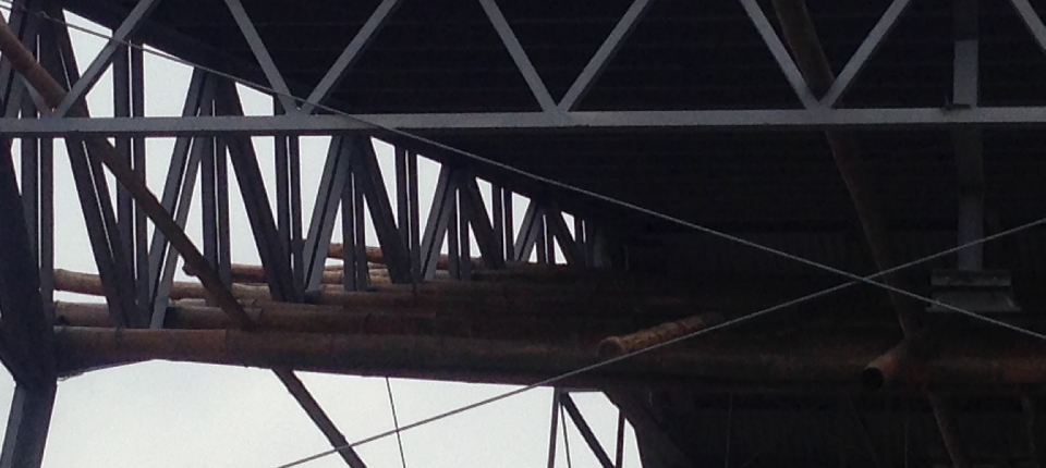 30% on-going repair of trusses and columns