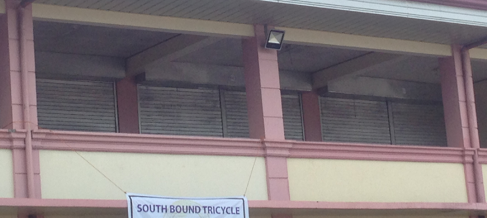electrical lighting at the back of public market