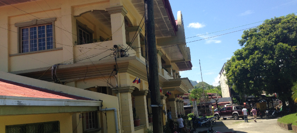 electrical wires to be repair before rehabiltation