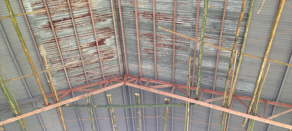 90% on-going repair of trusses and roofings